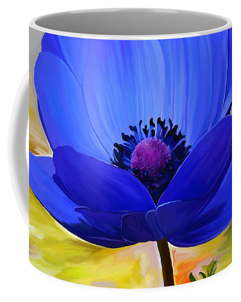 Fine Art Coffee Mug featuring the mixed media Lord Lieutenant by Patricia Griffin Brett