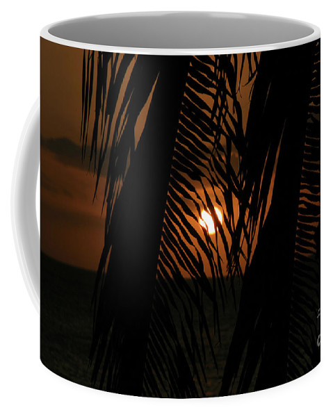 Aloha Coffee Mug featuring the photograph Lost And Found In Sunset Land by Sharon Mau