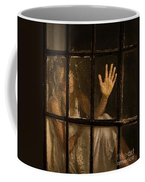 Festblues Coffee Mug featuring the photograph Lost Dreams.. by Nina Stavlund