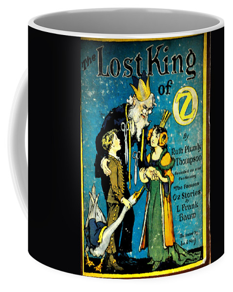 Book Coffee Mug featuring the photograph Lost King Of Oz by Jay Milo