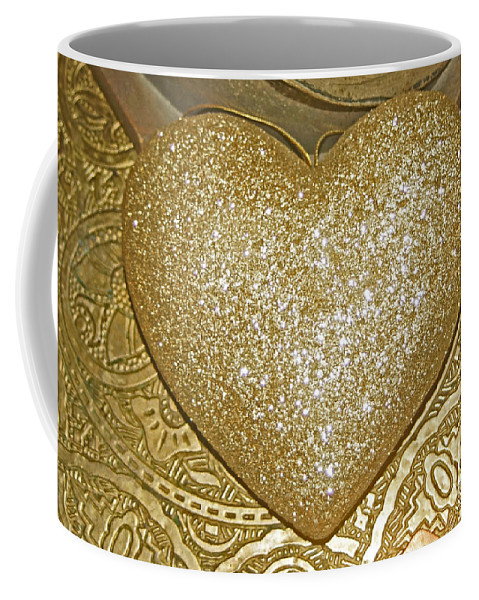 Golden Coffee Mug featuring the photograph Lost My Golden Heart by Eva-Maria Di Bella