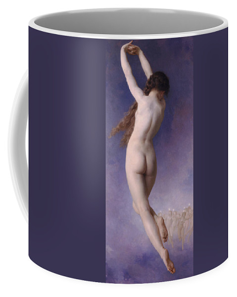 William-adolphe Bouguereau Coffee Mug featuring the painting Lost Pleiad by William-Adolphe Bouguereau