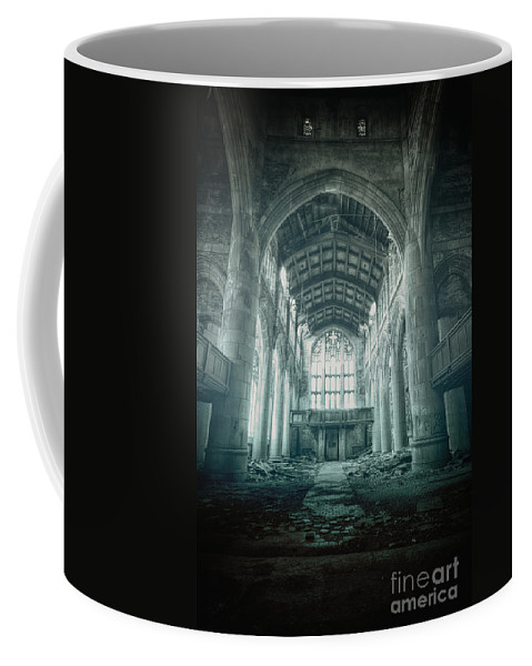 Church Coffee Mug featuring the photograph Lost Religion by Margie Hurwich