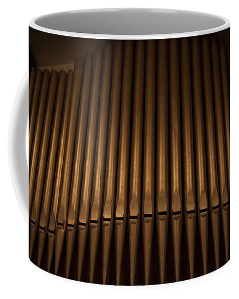 Organ Pipes Coffee Mug featuring the photograph Loud Pipes Saves Lives by Steve Gravano