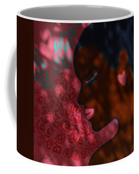 Love And Dreams Coffee Mug featuring the painting Love And Dreams by Xueling Zou