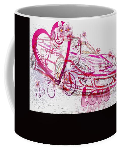 Love Coffee Mug featuring the digital art Fall In Love by Catherine Lott