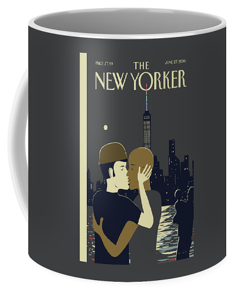 Love Coffee Mug featuring the painting Love by Frank Viva