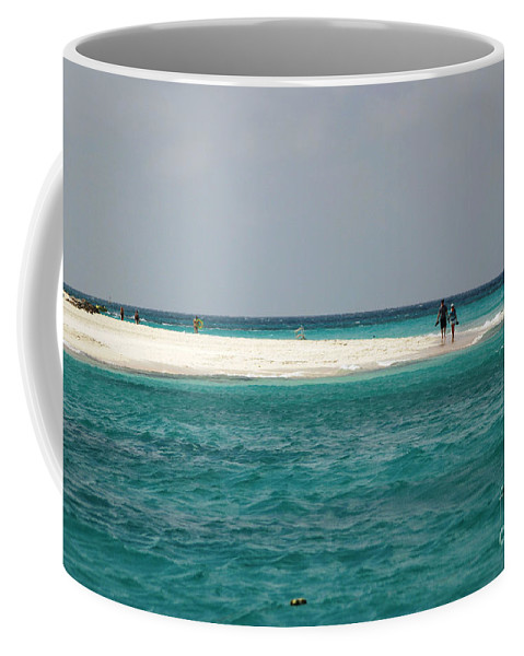 Aruba Coffee Mug featuring the photograph Love In Aruba by Living Color Photography Lorraine Lynch