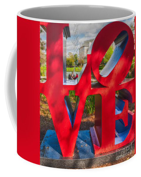 Love Coffee Mug featuring the photograph Love In City Park New Orleans by Kathleen K Parker