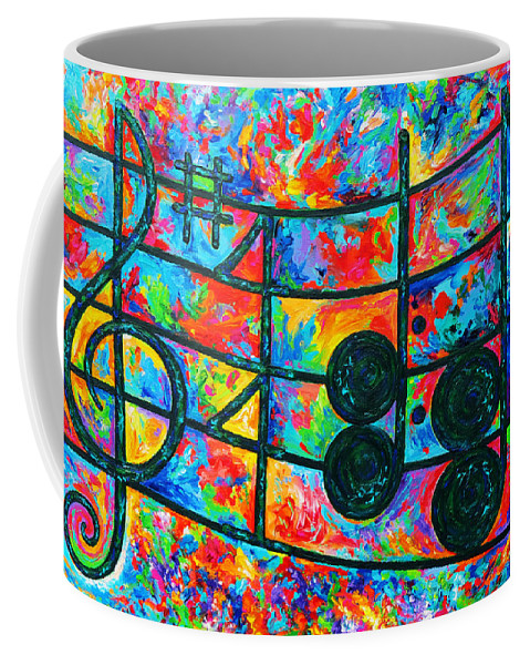 Love Coffee Mug featuring the painting Love by Julie Turner