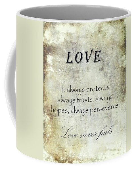 Art Coffee Mug featuring the digital art Love by Veikko Suikkanen