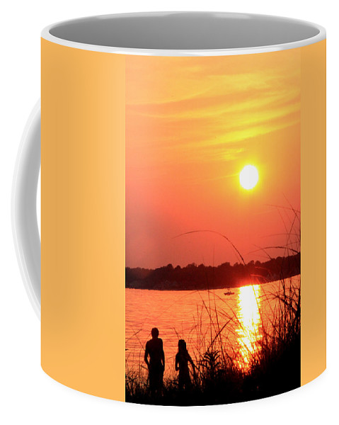 Mood Coffee Mug featuring the photograph Love You by Mark Ashkenazi