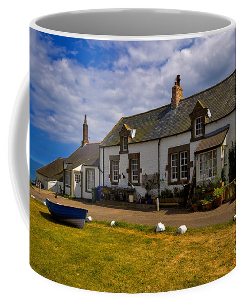 Travel Coffee Mug featuring the photograph Low Newton By The Sea by Louise Heusinkveld