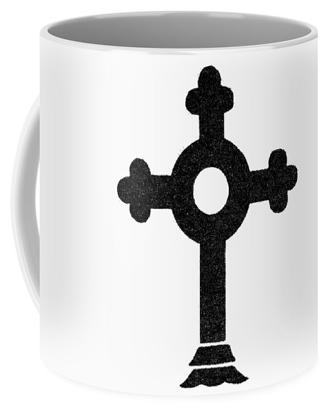 Christianity Coffee Mug featuring the painting Lutheran Cross by Granger