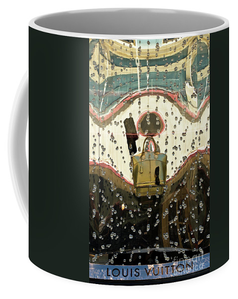Louis Vuitton Coffee Mug featuring the photograph Lv Gold Bag 02 by Rick Piper Photography