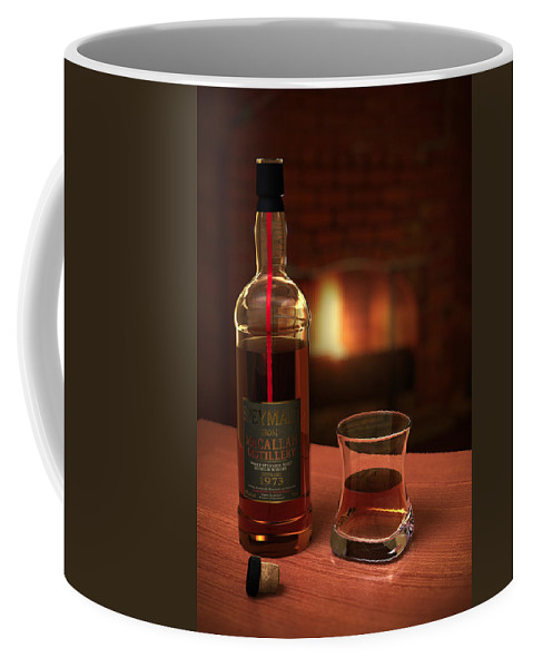 3d Coffee Mug featuring the photograph Macallan 1973 by Adam Romanowicz