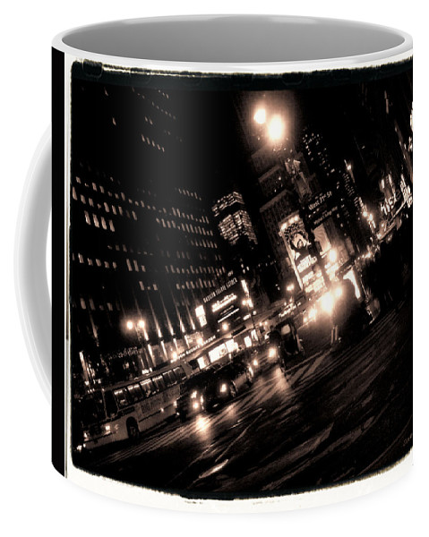 New York Coffee Mug featuring the photograph Madison Square Garden by Donna Blackhall