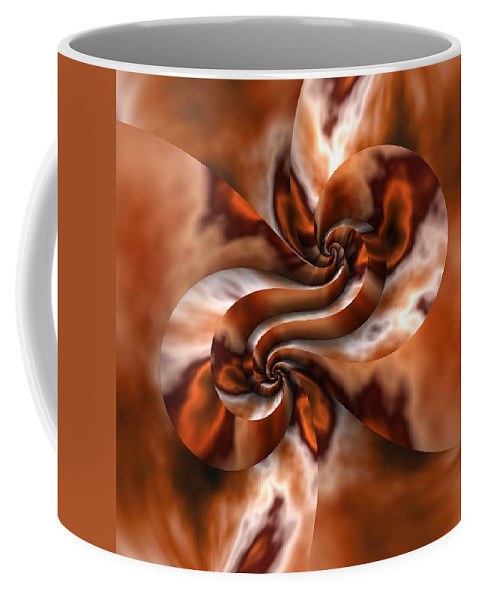 Fractal Coffee Mug featuring the digital art Maelstrom by Lyle Hatch