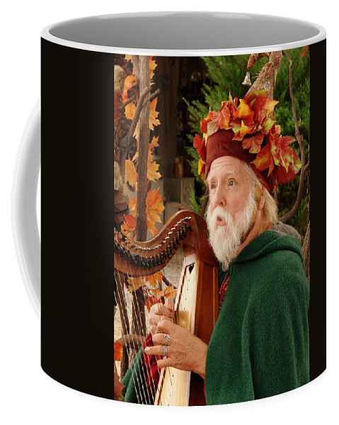 Minstrel Coffee Mug featuring the photograph Magical Minstrel by Rodney Lee Williams