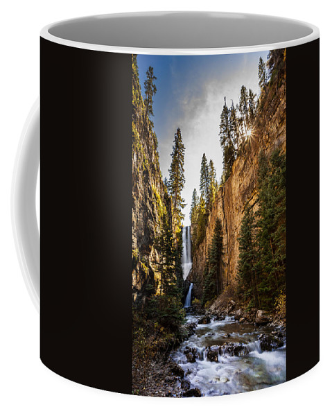 Nature Coffee Mug featuring the photograph Magnificent Mystic Falls by Steven Reed