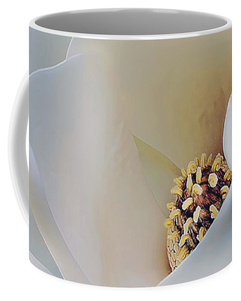 Magnolia Coffee Mug featuring the photograph Magnolia Blosoom - 3 by Mark Fuge