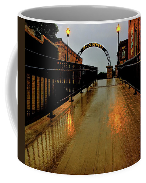 Main Street Coffee Mug featuring the photograph Main Street by Thomas Young