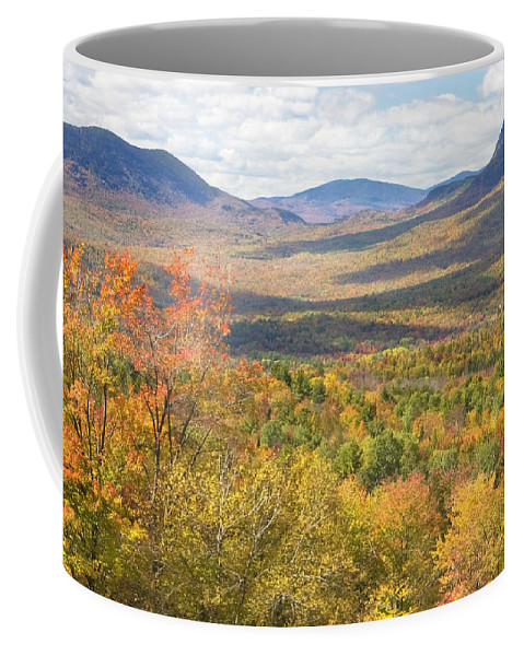 Maine Coffee Mug featuring the photograph Maine Mountains In Fall Mount Blue State Park by Keith Webber Jr