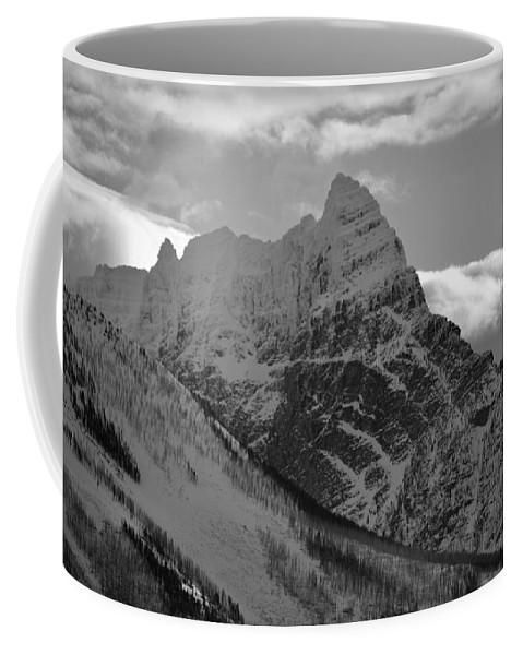 Whispering Peaks Coffee Mug featuring the photograph Majestic Peaks by Whispering Peaks Photography