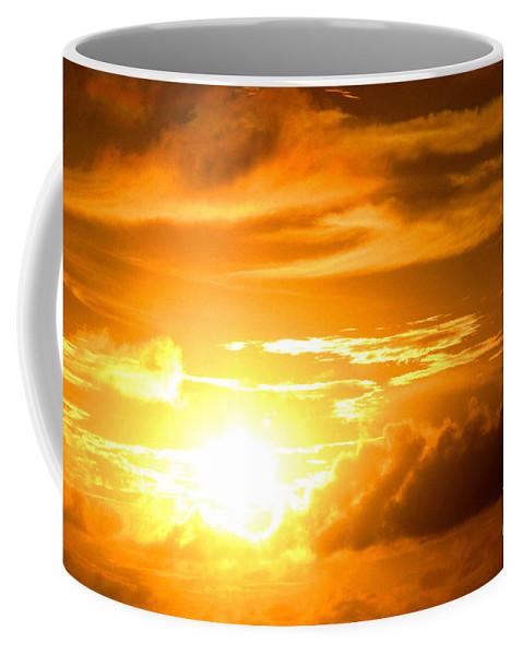 Sunset Coffee Mug featuring the photograph Majestic Sunset by Kristine Merc