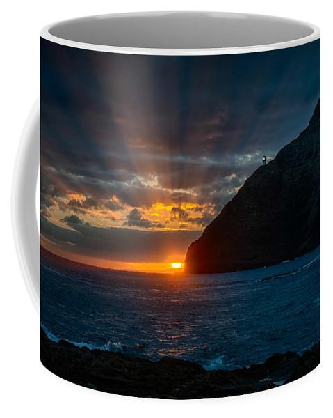 Hawaii Coffee Mug featuring the photograph Makapuu Sunrise by Dan McManus