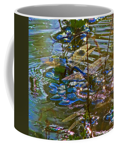 Making A Deposit For The Future Coffee Mug featuring the photograph Making A Deposit For The Future by Gary Holmes