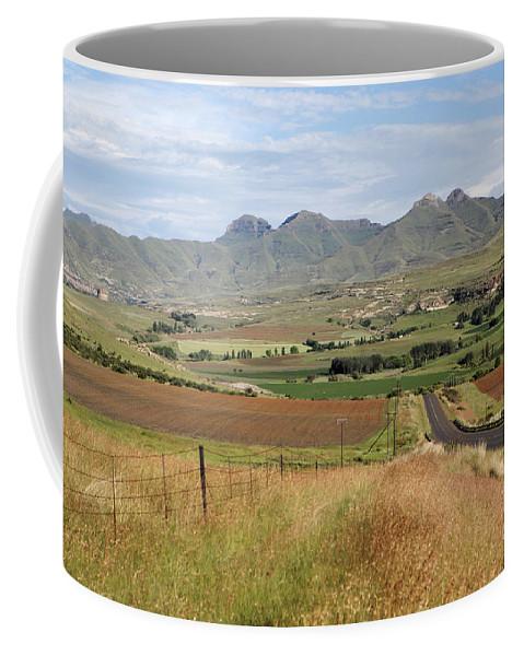Maluti Coffee Mug featuring the photograph Maluti Mountains by Neil Overy