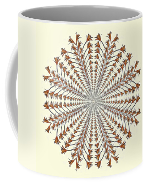 Mandala Coffee Mug featuring the photograph Mandala 12 by Beth Sawickie
