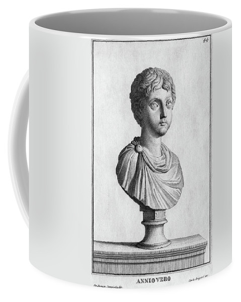 1st Century Coffee Mug featuring the painting Marcus Annius Verus by Granger