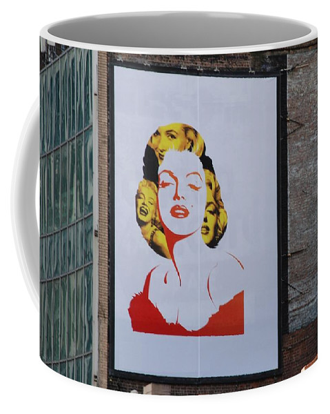 Marilyn Monroe Coffee Mug featuring the photograph Marilyn Monroe by Rob Hans