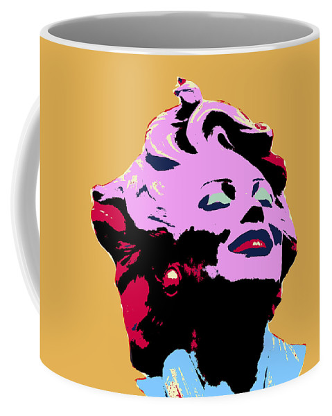 Pop Art Coffee Mug featuring the mixed media Marilyn Two by Dominic Piperata