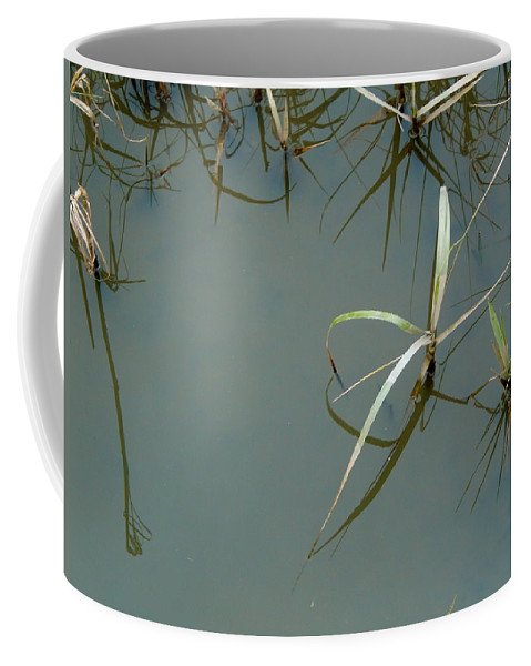Marsh Coffee Mug featuring the photograph Marsh Reflections by Terry Cobb