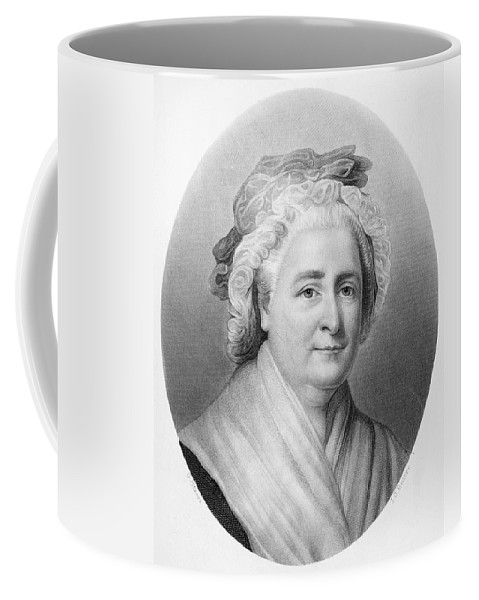 18th Century Coffee Mug featuring the painting Martha Washington (1732-1802) by Granger
