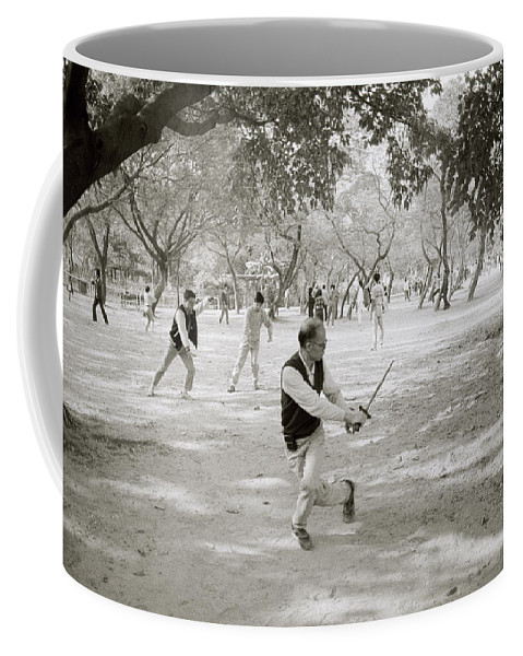 Sword Coffee Mug featuring the photograph Martial Art by Shaun Higson
