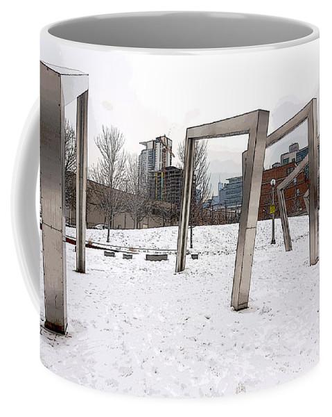 Mary Bartelme Park Coffee Mug featuring the photograph Mary Bartelme Park by Greg Thiemeyer