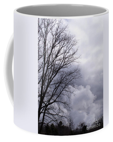 Emissions Coffee Mug featuring the photograph Masquerading As Cloud by Ann Horn