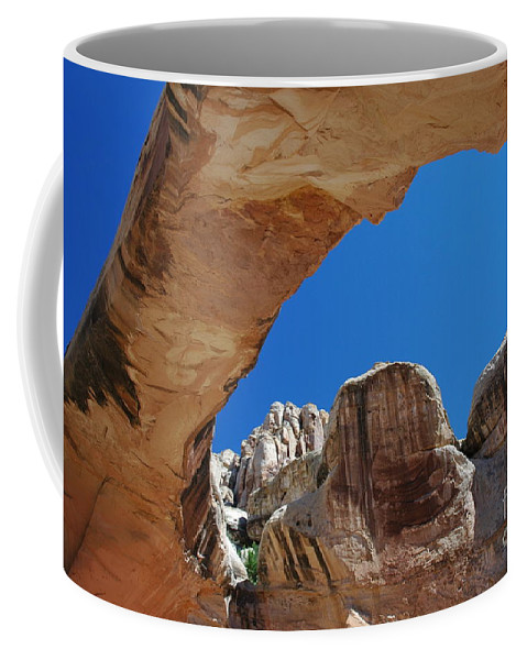 Massive Arch Coffee Mug featuring the photograph Massive Arch 1 by Allen Beatty