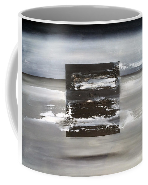 Abstract Art Coffee Mug featuring the painting Matrix by Antonio Ortiz