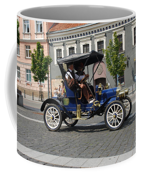 Car Coffee Mug featuring the photograph Maxwell by Oleg Konin