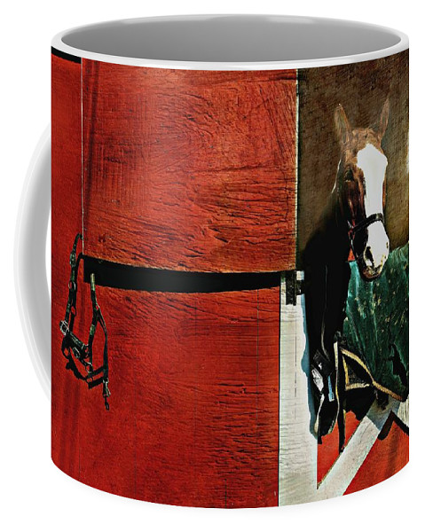 Horse Coffee Mug featuring the photograph Mcduffy by Diana Angstadt