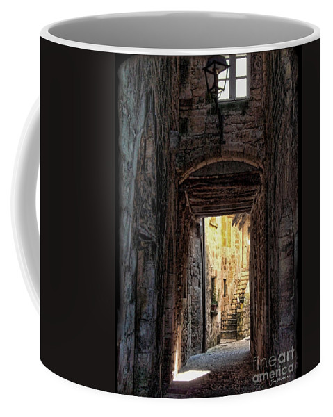 Medieval Alley Coffee Mug featuring the photograph Medieval Alley by Joan Minchak