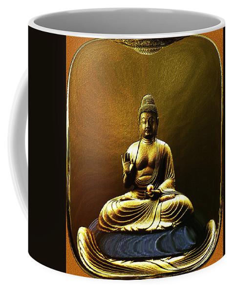 Meditation Coffee Mug featuring the photograph The Meditative State by Lyriel Lyra