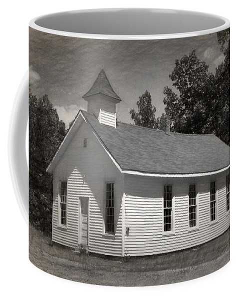 Abandoned Coffee Mug featuring the photograph Meeting House by Richard Rizzo