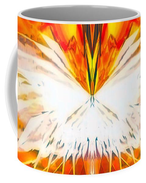Angel Coffee Mug featuring the digital art Melea by Raymel Garcia