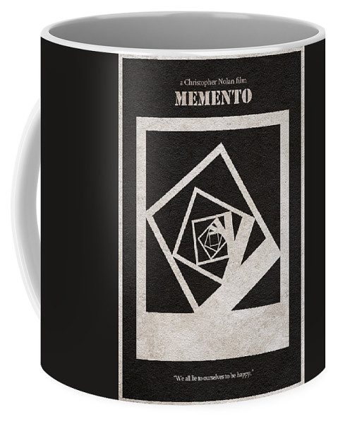 Memento Coffee Mug featuring the digital art Memento by Inspirowl Design